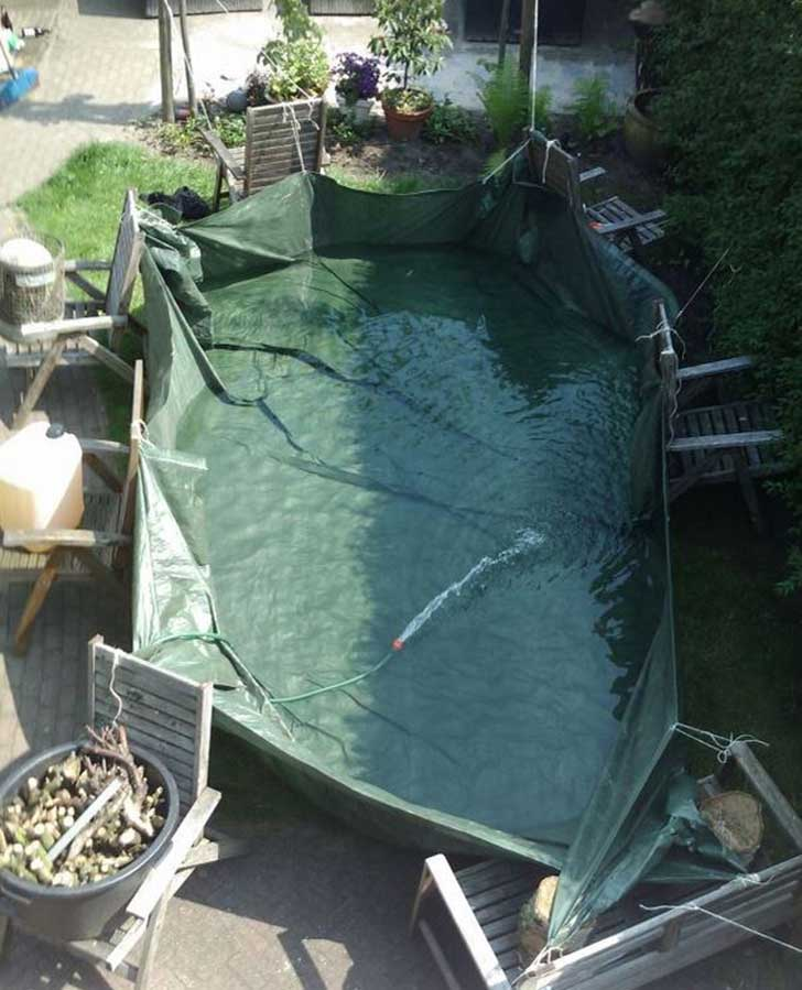 No tienes piscina? ficha estas ideas… piscina de cajas de cerveza ...