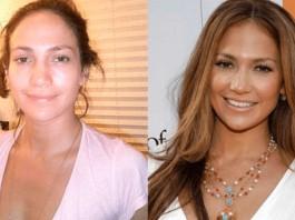 ¿Qué te parecen estas 13 famosas sin maquillaje?
