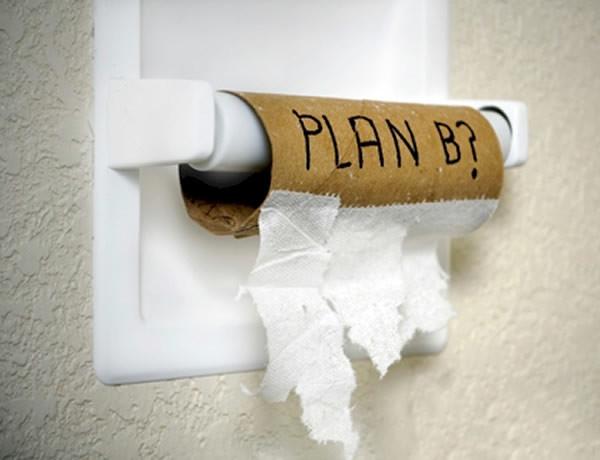 Papel higi nico divertido for Accesorios para bano papel higienico