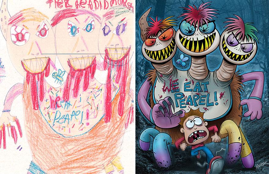 dibujos-infantiles-monstruos-artistas-monster-project-13