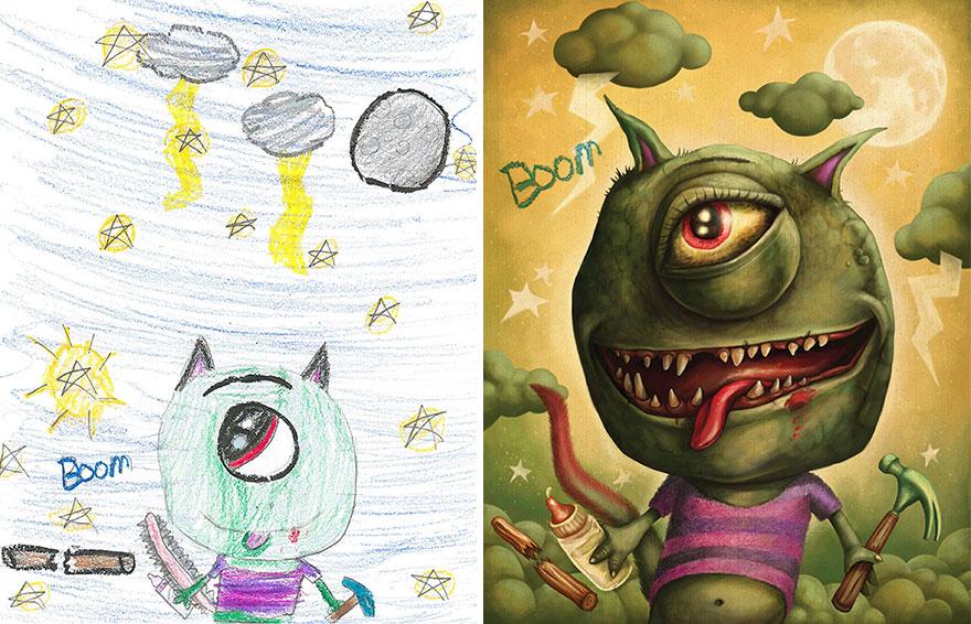 dibujos-infantiles-monstruos-artistas-monster-project-16