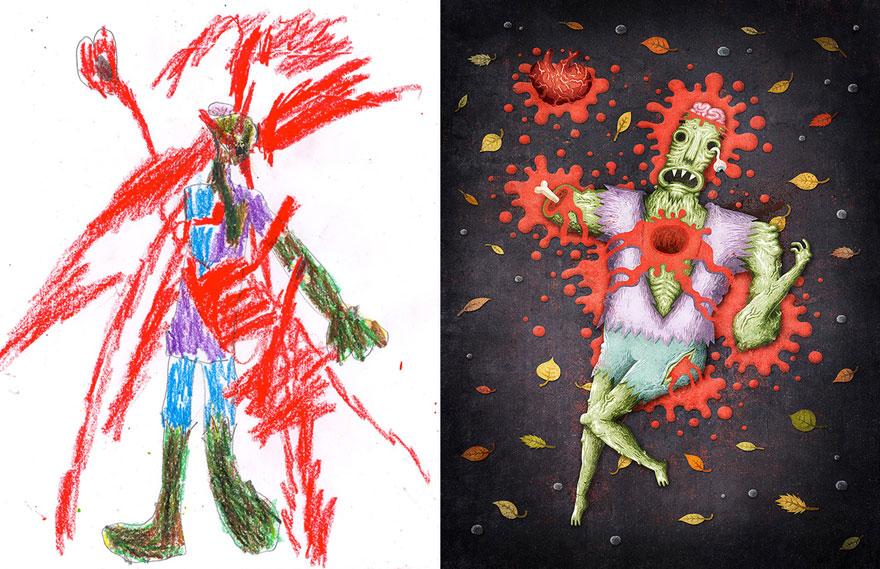 dibujos-infantiles-monstruos-artistas-monster-project-19