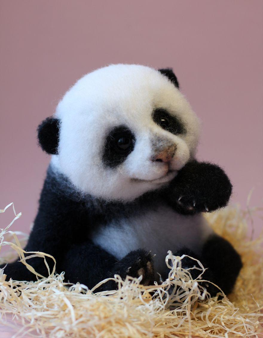 Adorables animales hechos con lana parte ii - Animal mignon ...