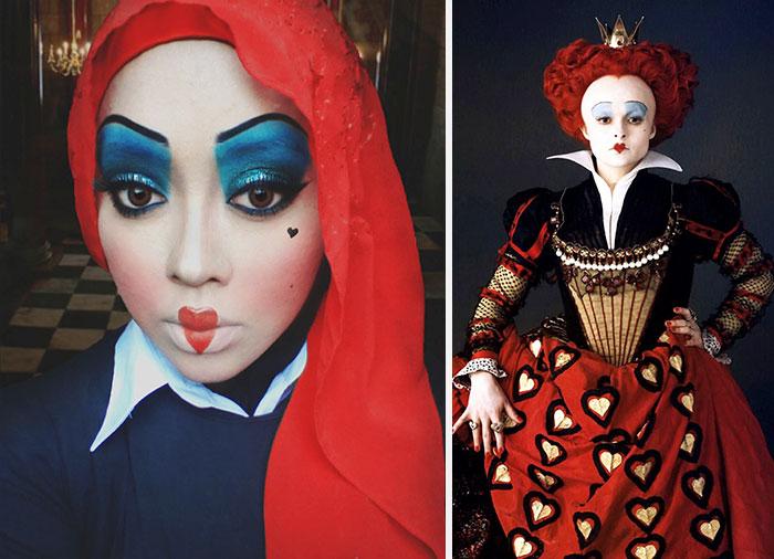 princesas-disney-maquillaje-hijab-saraswati-12