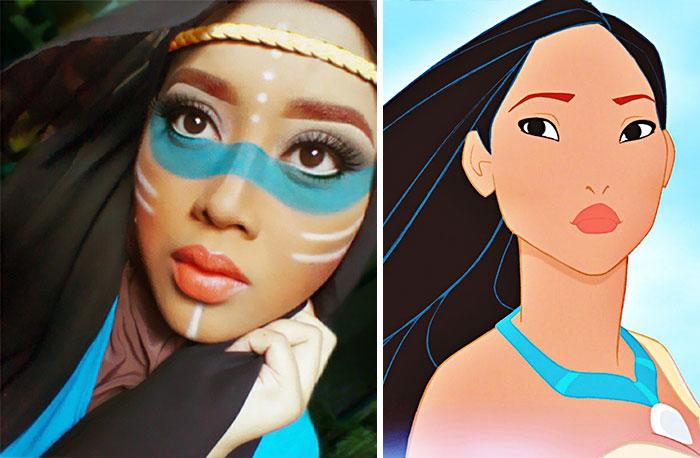 princesas-disney-maquillaje-hijab-saraswati-5