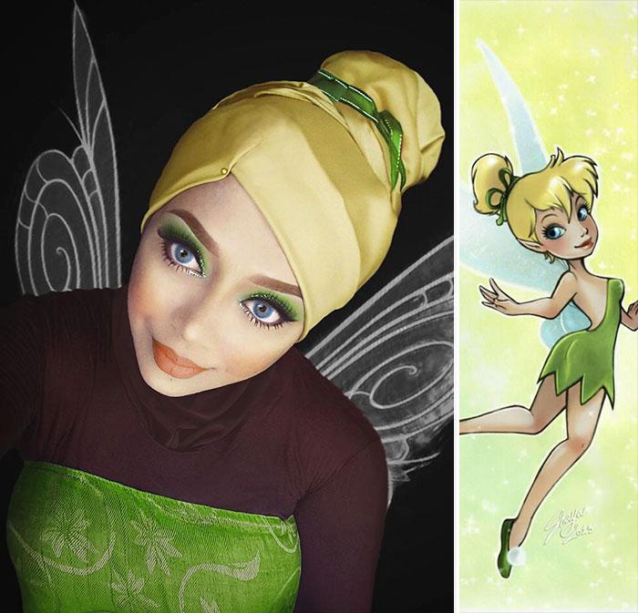 princesas-disney-maquillaje-hijab-saraswati-7
