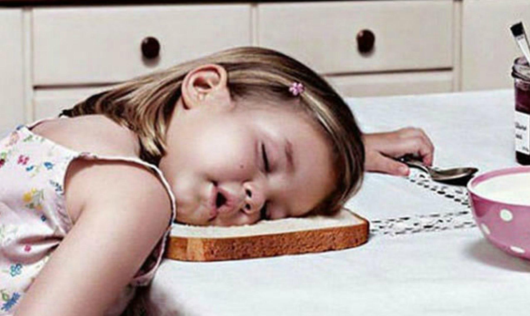 Niños Durmiendo En Lugares Insólitos (Parte I