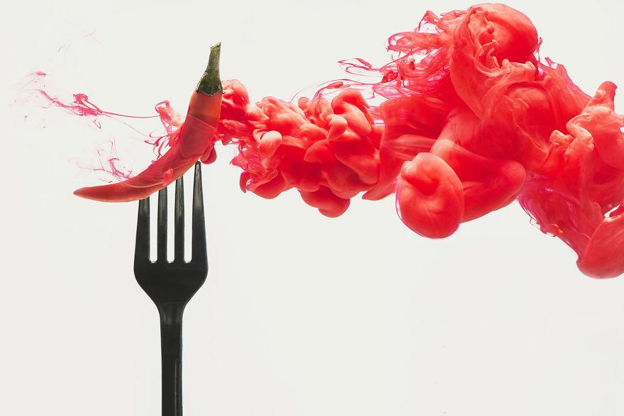fotografia-comida-disolviendose-dina-belenko-1