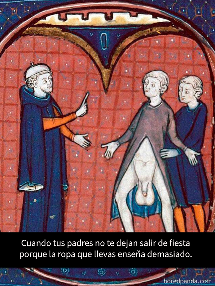 tuits-arte-clasico-humor-medieval-reactions-5